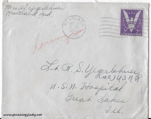 April 19, 1944 envelope