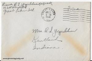 April 24, 1944 envelope