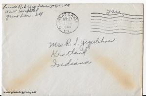 April 25, 1944 envelope