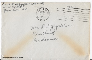 April 25, 1944 envelope