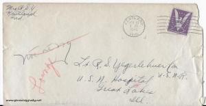 April 27, 1944 envelope