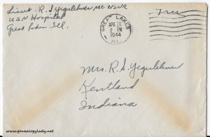 April 27, 1944 envelope