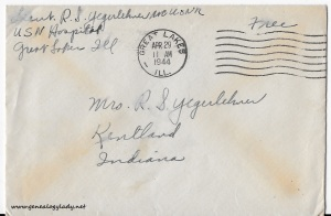 April 28, 1944 envelope