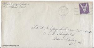 April 29, 1944 envelope