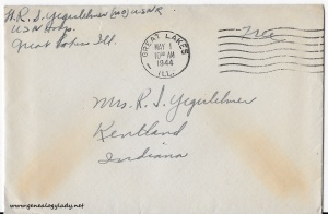 April 29, 1944 envelope