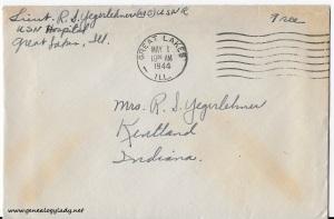 April 30, 1944 envelope