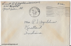 April 30, 1944 envelope