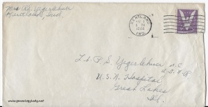 May 1, 1944 envelope