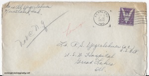 May 2, 1944 envelope