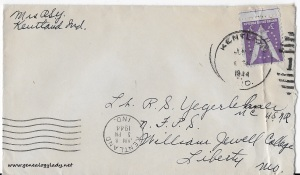 May 8, 1944 envelope