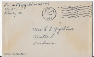 June 6, 1944 envelope