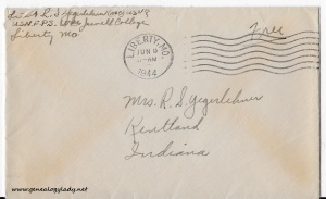 June 8, 1944 envelope