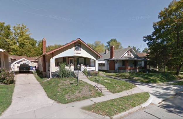 342 W. Kansas Street, Liberty, MO (Image courtesy of Google street view)