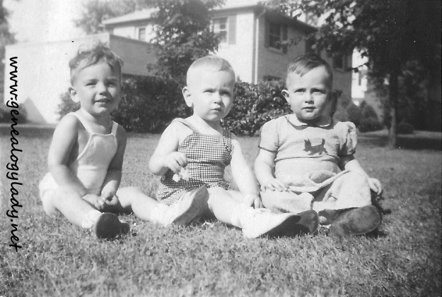 David, Jimmy Ed Johnson & Donald Funk, dated June 4, 1944