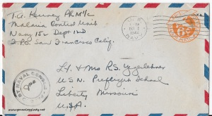 September 26, 1944 envelope