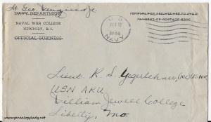 1944-10-18 (GWJr) envelope