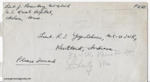 November 27, 1944 envelope