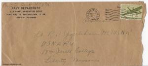 December 20, 1944 envelope