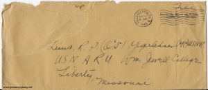 April 16, 1945 envelope