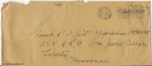 April 16, 1945 envelope