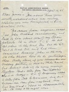 April 16, 1945, p. 1