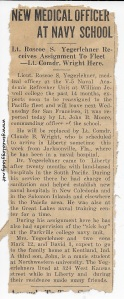 1945-07-31 (CEM) newspaper clipping