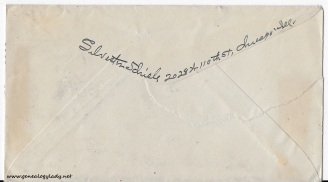 1945-08-16 (SS) envelope back