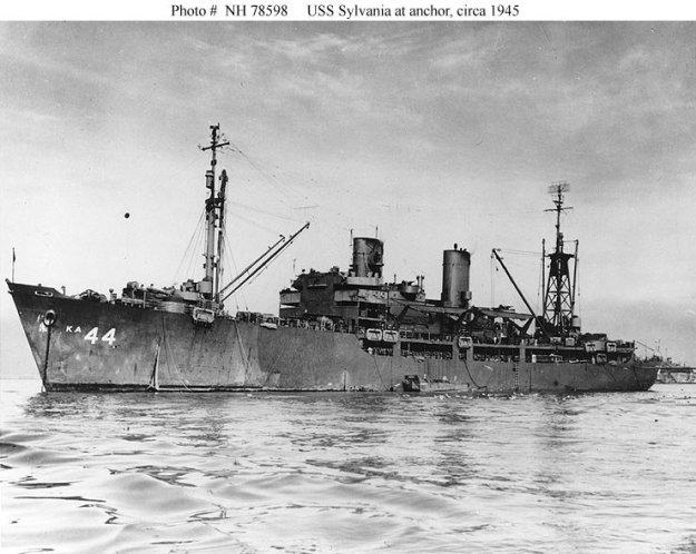 USSSylvania 1945