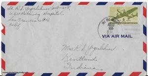 August 24, 1945 envelope