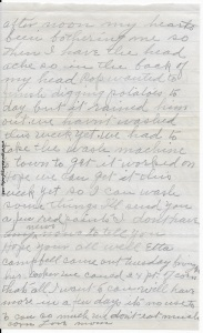 Letter from Lovina, dated August 23, 1945, p. 2