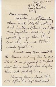 August 27, 1945, p. 1