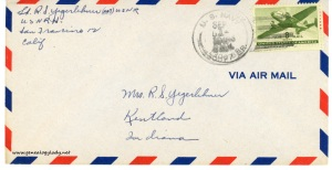 September 1, 1945 envelope