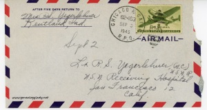 September 2, 1945 envelope