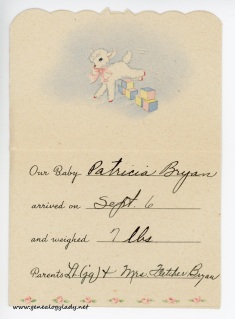 1945-09-08 (WB) card interior