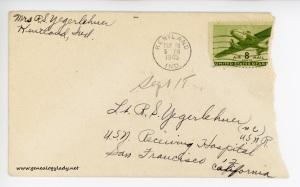 September 18, 1945 envelope