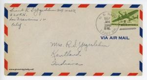 September 24, 1945 envelope