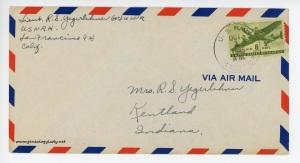 September 30, 1945 envelope