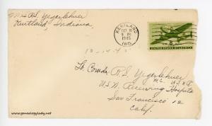 October 14, 1945 envelope