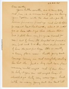 October 22, 1945, p. 1