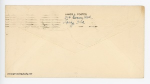 January 28, 1946 envelope (back)