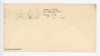 January 28, 1946 envelope (back)