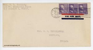 February 9, 1946 envelope