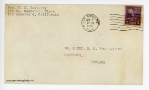 April 4, 1946 envelope