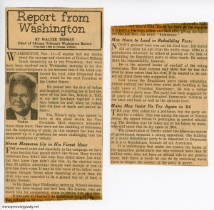 1960-11-15 newspaper clippings
