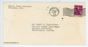 April 5, 1962 envelope