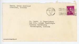 May 10, 1962 envelope