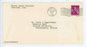 July 17, 1962 envelope