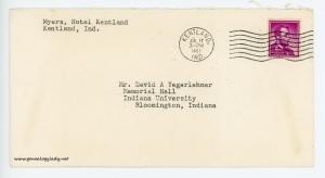 July 17, 1962 envelope