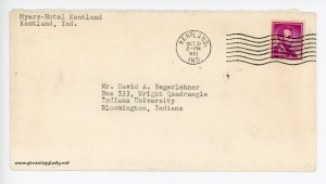 October 31, 1962 envelope