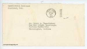 November 15, 1962 envelope